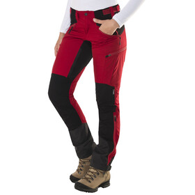 Lundhags Makke Pantaloni lunghi Donna rosso/nero